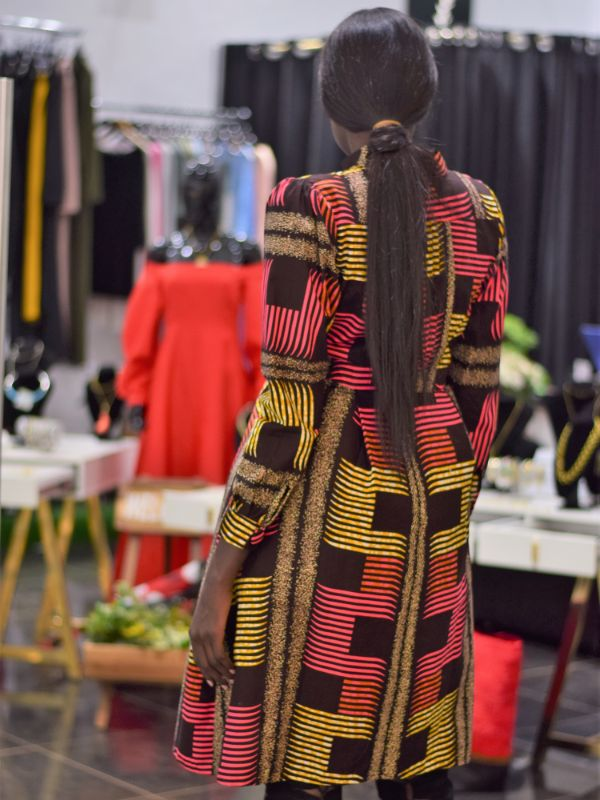 Tatia Trench Coat Dress